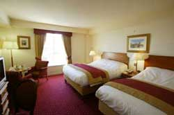 Bedroom at Galway Bay hotel in Salthill Galway City Ireland